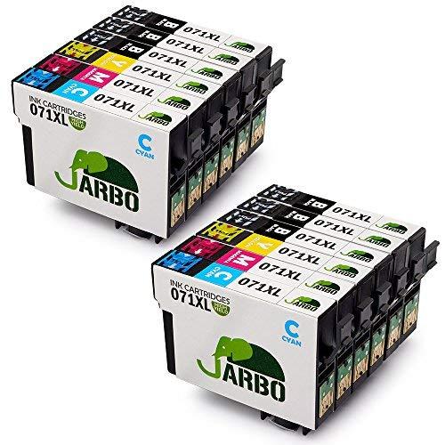 JARBO T0715 Cartucce Compatibili Epson T0711 T0712 T0713 T0714 per Epson SX100 SX110 SX200 SX210...
