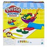 Hasbro Play-Doh B9012EU4 - Schnippel- und Servierset Knete, für fantasievolles und kreatives Spielen