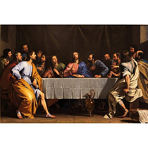 Puzzle House- PT Gesù Cristo Nato, Jigsaw Puzzle in Legno, Ultima Cena Capolavoro Dipinto, Fine Cut...