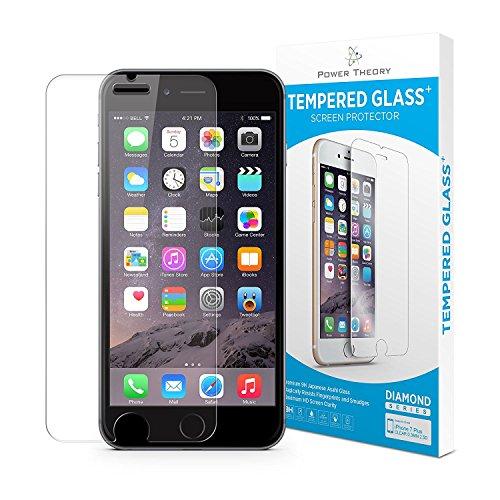 iPhone 8 Plus Panzerglas - Japanische 9H Panzerglasfolie, Folie/Schutzfolie, HD Displayschutzfolie, Panzerfolie, Tempered Glass Schutzglas, Handy Glasfolie 3D Hartglas, Screen Protector Glas