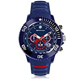 Ice-Watch - BMW Motorsport (sili) Blue Red - Men's wristwatch with silicon strap - Chrono - 001132 (Large)