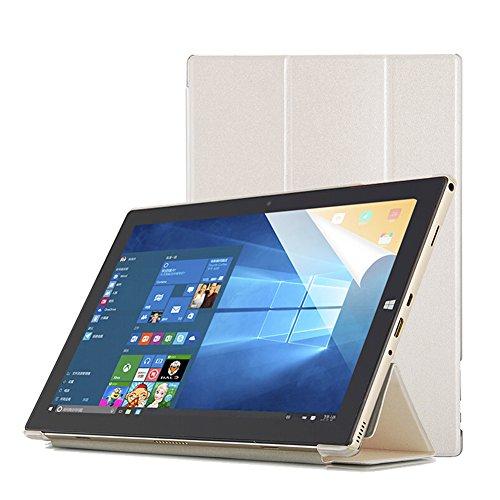 Funda Teclast P10 Octa Core Tablet Case-Slim Funda Smart Cover Transparente Durable para Teclast P10 Octa Core 10.1 Inch Tablet-Blanco