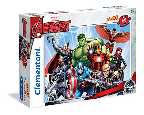 Clementoni 26750 - Avengers Maxi Puzzle, 60 Pezzi