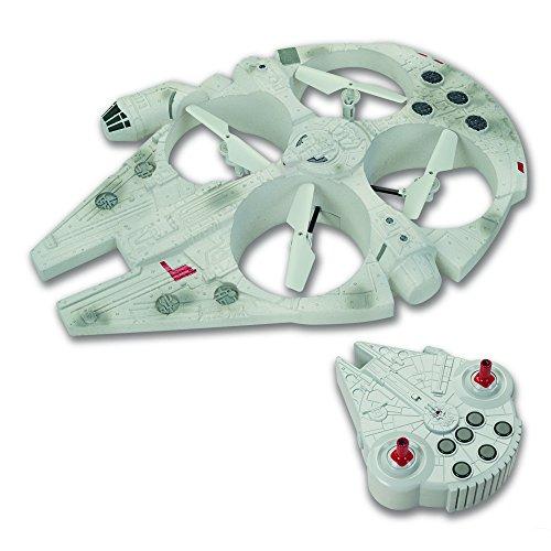Giochi Preziosi - Star Wars Il Risveglio della Forza, Drone Volante Millennium Falcon, Lunghezza 35...