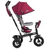Kinderkraft Swift 6in1 Dreirad für Kinder mit Zubehör in 2...
