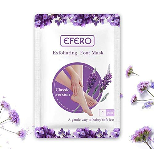 Z&Y 1 Pair Foot Mask, Exfoliating Callus Peel Booties, Peeling Off Calluses and Dead Skin, Baby Soft Smooth Touch Feet for Men and Women