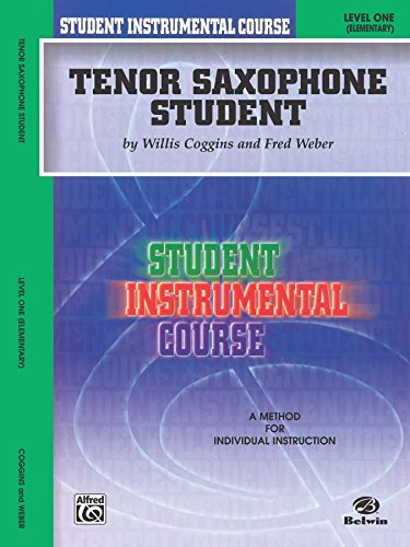 Student Instrumental Course: Tenor Saxophone Student, Level 1