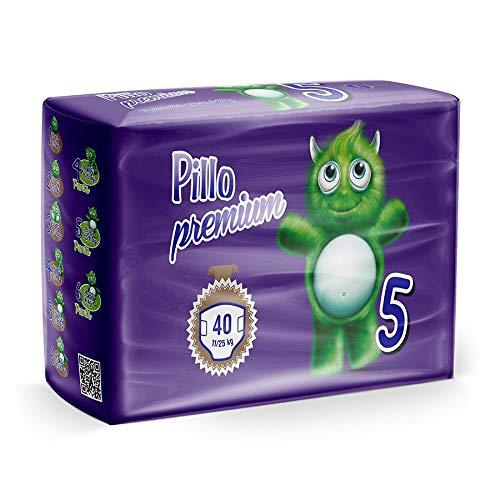 Pillo Premium Junior, Taglia 5 (11-25 Kg), 40 Pannolini