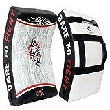 Tigon Kick Shield Gel Strike Shield Saco de Boxeo Kick Pad Punching Boxing MMA Artes Marciales Arte Entrenamiento Brazo (Este es un artículo único)