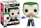 DC Comics Funko Pop Movies: Suicide Squad Action Figure, The Joker Shirtless