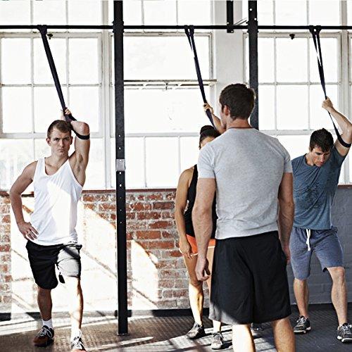 Bande Elastique Fitness, SGODDE Bande de Resistance Set(4) en Latex, Équipement d'Exercices pour Musculation Pilates Squat Sport Rééducation... 25