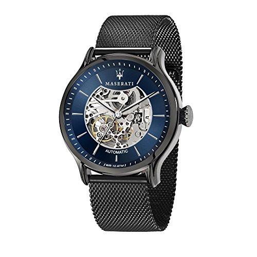 MASERATI Orologio Analogico Automatico Uomo con Cinturino in Acciaio Inox R8823118002