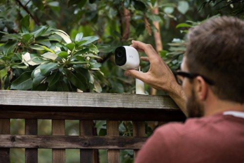 51xy4Z3iPPL [Bon Plan Smarthome!]  Netgear - VMS4130-100EUS - Arlo Pro -  Pack de 1 Caméra, Smart caméra HD 720p, grand angle 100% Sans Fils - avec ba...