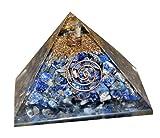 Aatm Reiki Energiezed lapislazzuli Orgone Pyramid (pietra dei lumi e bilanciamento)