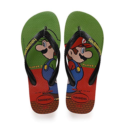 Havaianas Mario Bros, Infradito Unisex Adulto, ((Strawberry 2162), 41/42 EU