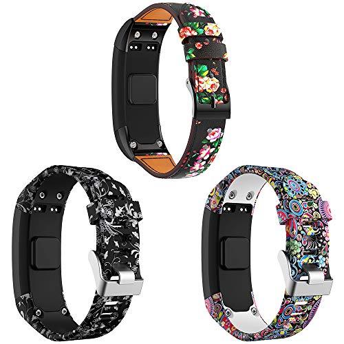 SUPORE Vivosmart HR Cinturino per Cinturino, Cinturino di Ricambio, Accessori Regolabili Cinturini in Corteccia Morbida per Cinturini progettati per Garmin Vivosmart HR Smart Watch