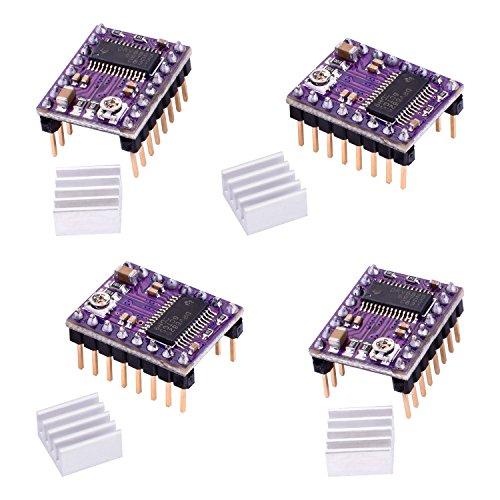 51y87zIDEJL - kuman Profesional Impresora 3D CNC Kit para Arduino, GRBL CNC Shield con R3 Board + RAMPS 1.4 Interruptor Mecánico Tope + DRV8825 GRBL Motor Paso a Paso Controlador de Calor + Nema 17 KB02