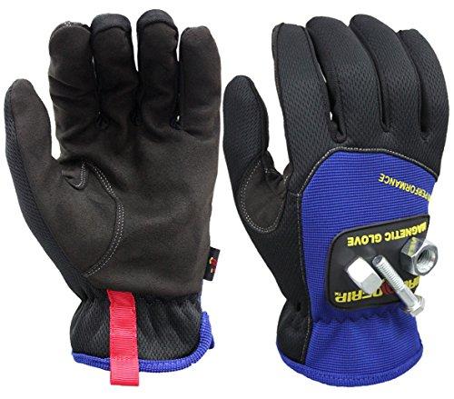 Magnogrip 006–031Pro Performance magnetico guanti con tecnologia touchscreen–Medium,...