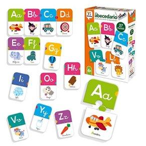 Diset- Juguete educativos El Abecedario, Multicolor (68963)