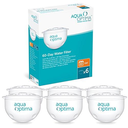 Aqua Optima 60-Day water filter cartridge bundle (12 months of Aqua Optima 60-Day) (6 cartridges)