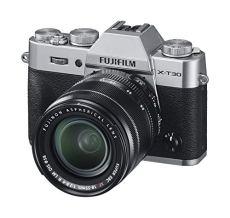 Fujifilm X-T30, Kit cámara con Objetivo Intercambiable XF18-55/2.8-4, Color Plata