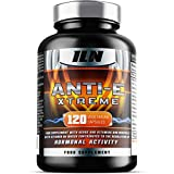 Anti-E Xtreme - With B6 for regulation of hormonal activity (Including TESTOSTERONE & ESTROGEN) - 120 Vegetarian Capsules