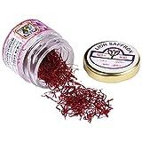 Lion 100% Pure Organic Mongra Grade A Kashmir Saffron Pack - 1g
