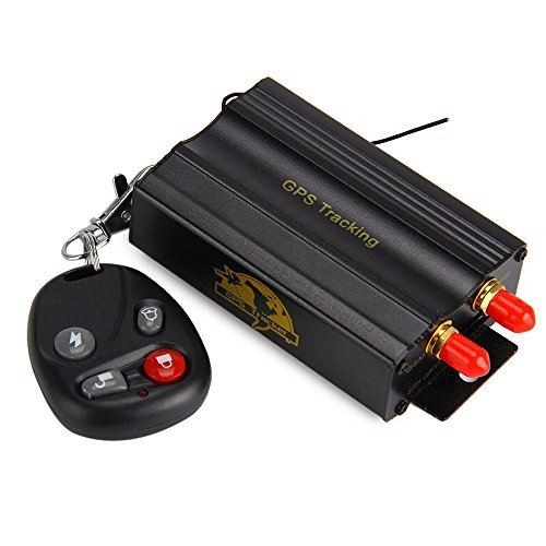 FUNSY Vehicle Tracker Quad band Real Time GPS GSM GPRS Tracker Device Google Map Free Web Platform Services