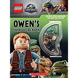 Owen's Jurassic Logbook (wth Owen minifigure and mini Blue Raptor) (LEGO Jurassic World)