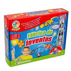Science4you-5600983600225 Fábrica de Inventos, Juguete Educativo y Científico para Niños +8 Años, Multicolor, única…