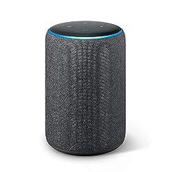 Kaufen Das neue Echo Plus (2. Gen.), mit Premiumklang und integriertem Smart Home-Hub, Anthrazit Stoff