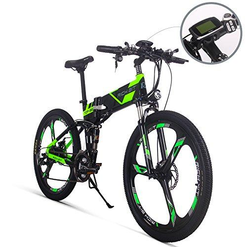 RICH BIT® Nouvelle mise à jour Rt-860 36 V * 250 W 12.8Ah/8Ah Vélo...