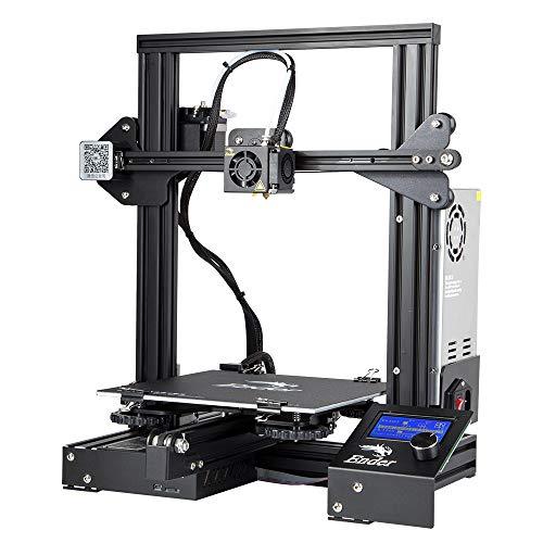 Comgrow Creality 3D Ender 3 Stampante 3D Alluminio DIY con Resume Print Formato di Stampa 220 * 220...