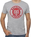 New Indastria T-Shirt Bayside School Home of Tigers -Telefilm Retro - by Uomo-M-Grigia