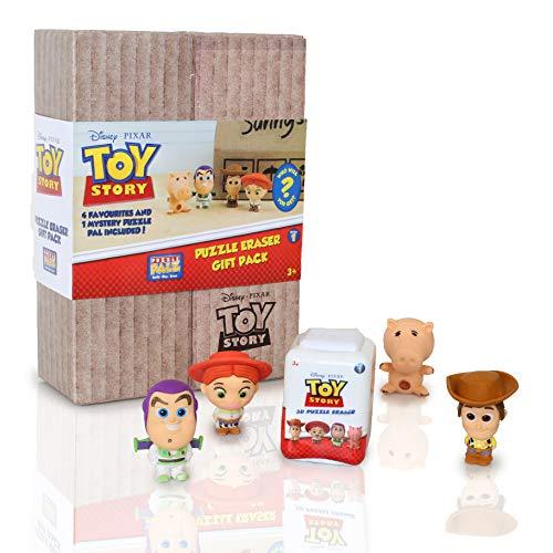 Disney Toy Story Figure da Collezione con Woody, Jessie, Buzz E Hamm | Mini Figure Giocattoli 3D da...