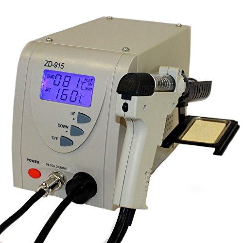 Regelbare digitale Entlötstation ZD-915 ESD 80W
