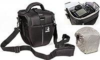 La spaziosa Bodyguard Colt-M borsa fotografica offre per una fotocamera DSLR con un obiettivo. La lunghezza della fotocamera e l'obiettivo può essere fino a 18 centimetri.  funzionale e confortevole:    4 modi per trasportare:   Belt loop : indossare...
