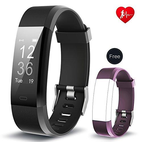 Fitness Tracker, Arbily YG3PlUS Moniteur de fréquence cardiaque Tracker...