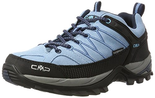 CMP-Damen-Rigel-Low-WP-Trekking-Wanderhalbschuhe-Trkis-Niagara-39-EU