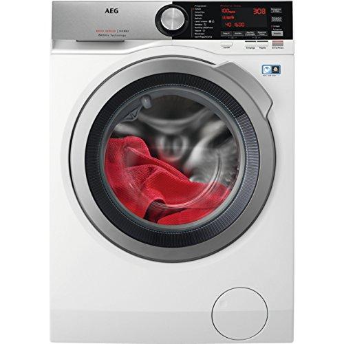 AEG l8wec166X autonomo carico anteriore a Argento, Bianco-Macchine da lavare con asciugatrice...