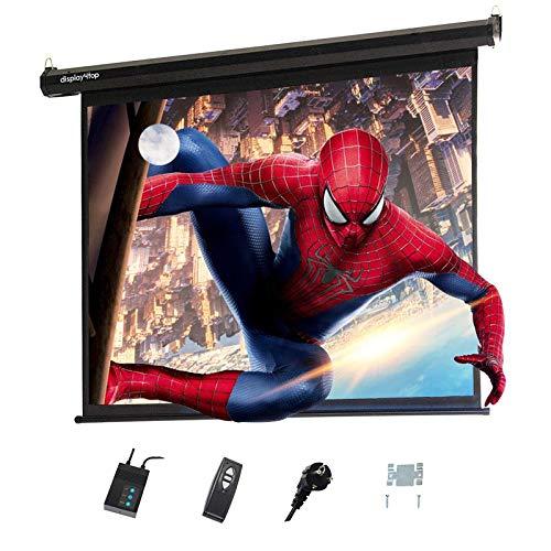 Display4top elettrico 60'Schermo Proiettore Schermo di Proiezione 4: 3 portatile pieghevole per home...