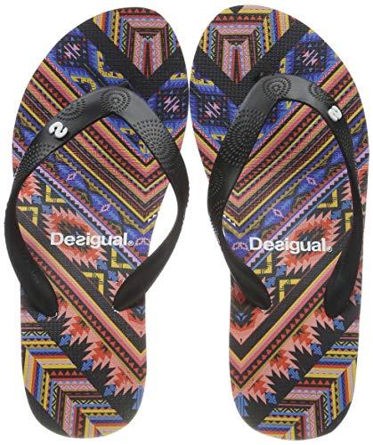 Desigual Shoes (Lola_Mexican), Infradito Donna, Nero (Negro 2000), 36 EU