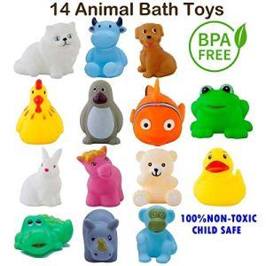 Ramakada Bath Toys Chu Chu Toddler Set for Baby Non-Toxic Multi Color 22  Ramakada Bath Toys Chu Chu Toddler Set for Baby Non-Toxic Multi Color 51z5t3gaQ5L