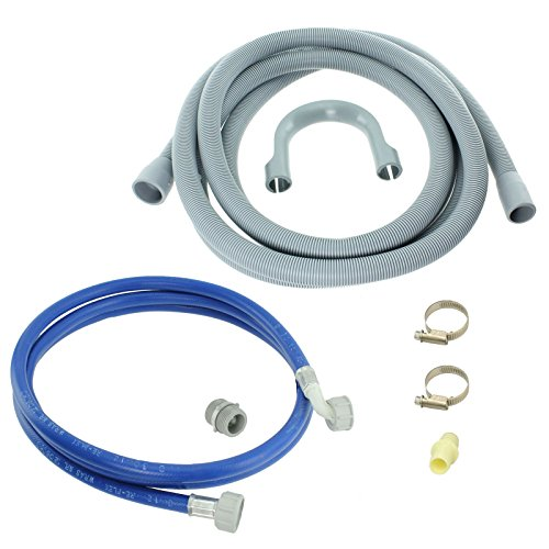 Spares2go tubo di riempimento acqua e prolunga tubo di scarico kit per Proline lavastoviglie...