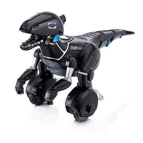 51z77M3Cu5L - Juguetrónica- Robot MiPosaur, Color Negro (WowWee 0890)