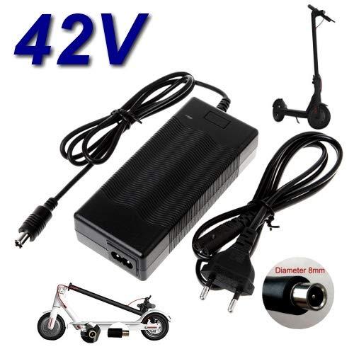 Top Chargeur - Adattatore di alimentazione, caricatore 42 V per monopattino elettrico pieghevole...
