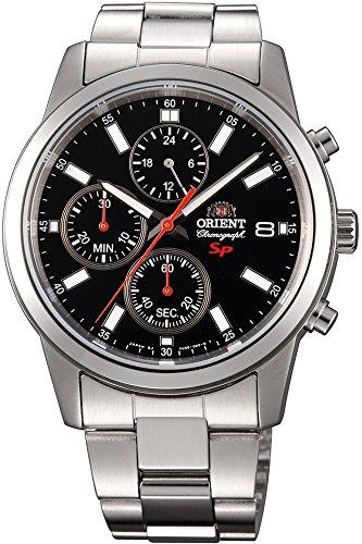 Orient Orologio Cronografo Quarzo Uomo con Cinturino in Acciaio Inox FKU00002B0
