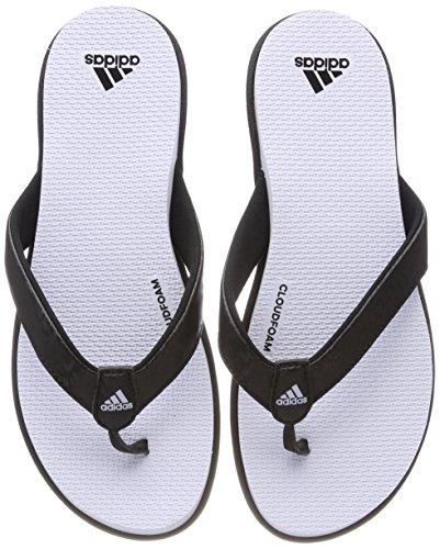 adidas Cloudfoam Flip Flop, Scarpe da Spiaggia e Piscina Donna, Nero (Cblack/Aerblu), 37 EU