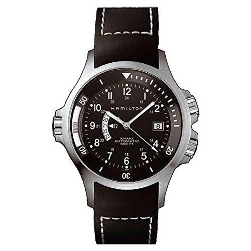 Hamilton Herren Analog Automatik Uhr mit Plastik Armband H77615333