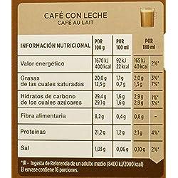 NESCAFÉ Dolce Gusto Café con Leche, Pack de 3 x 16 Cápsulas - Total: 48 Cápsulas de Café